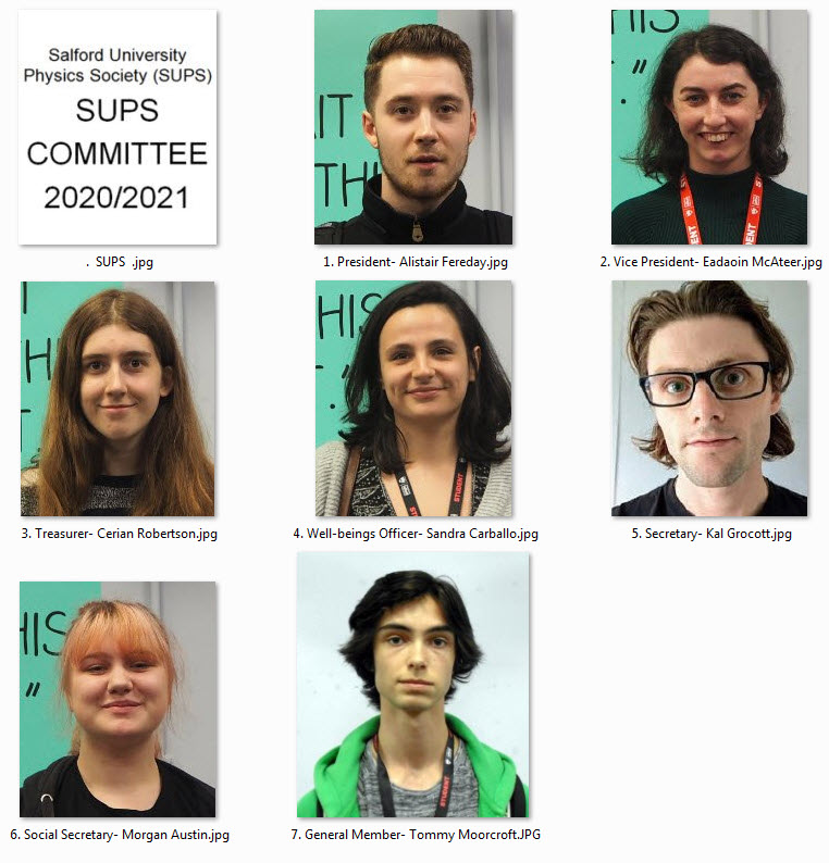 SUPS Committee 2020/2021